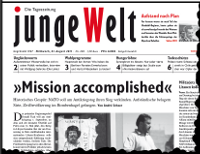 junge Welt, 31. August 2011