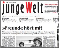 junge Welt, 3. September 2013