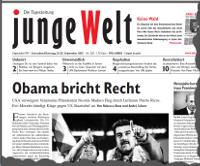 junge Welt, 21. September 2013