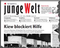 junge Welt, 13. August 2014