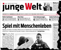 junge Welt, 16. April 2015