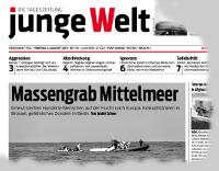 junge Welt, 7. August 2015