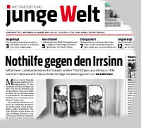 junge Welt, 12. August 2015