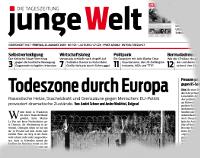 junge Welt, 21. August 2015